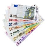 Billetes de banco euro Imagen de archivo