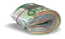Billetes de banco euro Imagenes de archivo