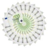 Billetes de banco euro. Fotografía de archivo libre de regalías