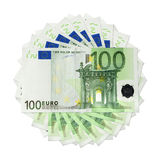 Billetes de banco euro libre illustration