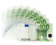 Billetes de banco euro stock de ilustración
