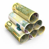 200 billetes de banco euro del balanceo libre illustration