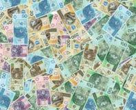 Billetes de banco polacos del dinero Imagenes de archivo
