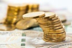 Billetes de banco polacos, dinero Foto de archivo