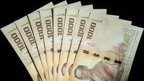 Billetes de banco de Tailandia Imagenes de archivo