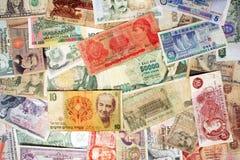 Billetes de banco viejos Imágenes de archivo libres de regalías