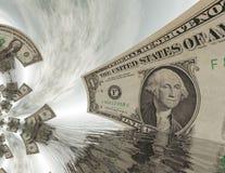 Billetes de dólar Fotografía de archivo libre de regalías