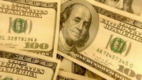 Billetes de dólar de la moneda ciento de Estados Unidos