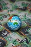 Billetes de dólar del australiano 100 Fotografía de archivo libre de regalías