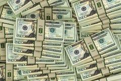 20 billets d'un dollar Photographie stock libre de droits
