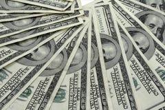 Billets d'un dollar de Hundert Images libres de droits