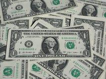 Billets d'un dollar un Images stock