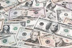 Billets de banque américains Photographie stock libre de droits