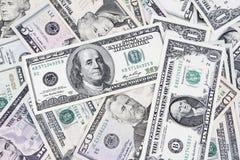Billets de banque américains image libre de droits
