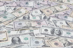 Billets de banque américains Images stock