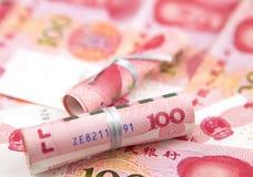 Billets de banque chinois Photo stock