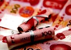 Billets de banque chinois Photographie stock