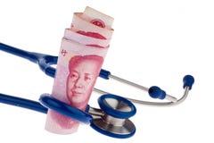 Billets de banque chinois de yuan Photographie stock