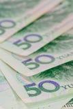 Billets de banque chinois de yuans (renminbi) pour l'argent et le conce d'affaires Photo stock