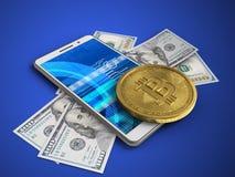 billets de banque 3d Image stock