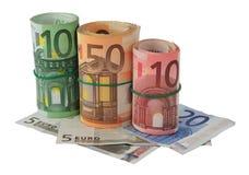 Billets de banque d'euro Image stock