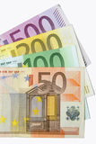Billets de banque d'euro Photos stock