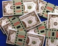 100 billets de banque de dollar US Photographie stock libre de droits