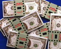 100 billets de banque de dollar US Illustration de Vecteur