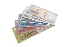 Billets de banque de dong Photos stock