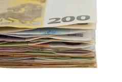 Billets de banque de gerbe Image libre de droits