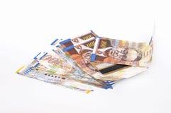 Billets de banque de shekels de l'Israël Photographie stock