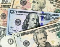 Billets de banque des Etats-Unis photo libre de droits