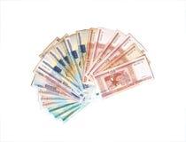 Billets de banque des roubles biélorusses Photo libre de droits