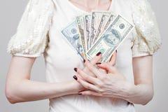 Billets de banque des USA Photos libres de droits