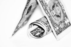 Billets de banque du dollar Image libre de droits