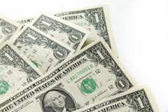 Billets de banque du dollar Photo libre de droits