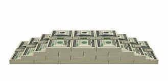 100 billets de banque du dollar Images stock