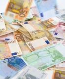 billets de banque euro Image libre de droits