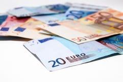 billets de banque euro Photographie stock libre de droits