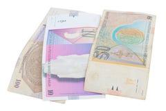 Billets de banque macédoniens Photo stock