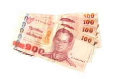 Billets de banque thaïlandais Photo libre de droits