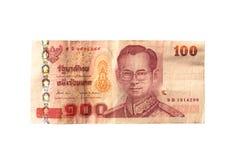 Billets de banque thaïlandais Images libres de droits