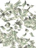 Billets de banque de vol des dollars Photos libres de droits