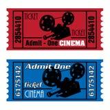 Billets de cinéma Image libre de droits