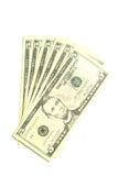 Billets de cinq dollars Image stock