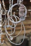 Billetta del metallo per la fucina fotografie stock