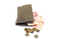 Billfold Photographie stock