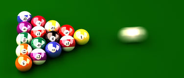 Billiard Stock Image