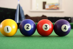 billiard Obraz Stock