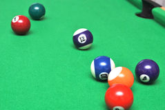 Billiard stockfoto
